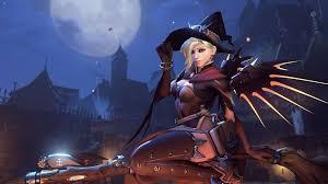 Halloween Wars Wiki by Image Halloween Terror 2016 Menu Mercy Png Overwatch Wiki