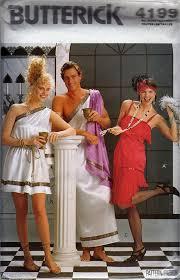 butterick halloween costumes amazon com butterick 4199 flapper greek toga costume sewing