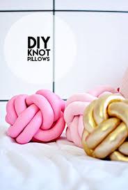 knot pillows diy knot pillows tutorial little inspiration