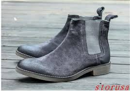 buy boots with paypal chelsea boot suede army motocycle boots shoes ankle