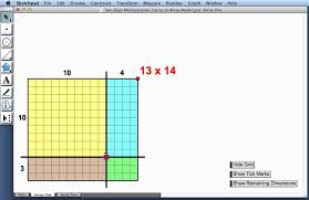 two digit multiplication u2014using an array model youtube
