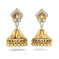 gold jhumka earrings design gold jhumka earrings designs gold and diamond earrings