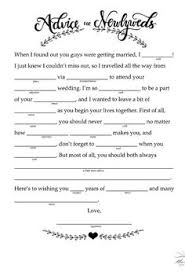 bridal mad libs 14 free and printable wedding mad libs free mad and