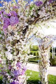 wedding arches adelaide purple and white wedding arch by tantawan bloom aisles and