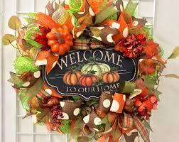 happy fall y all deco mesh wreath fall wreath fall deco