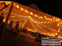wedding tent lighting tent wedding twilight string lights rob alberti s event