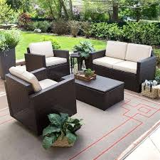 Outdoor Resin Wicker Patio Furniture by Resin Wicker Patio Table Sets Breathe Wicker Sofa Today Most