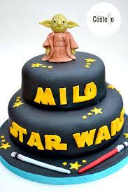 wars birthday cakes yoda cake topper tutorial wars casa costello