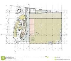 Ground Floor Plan Building Ground Floor Plan Stock Photo Image 14037960
