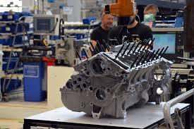 Lamborghini Aventador Engine - factory visit to the lamborghini huracan production line