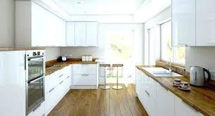 cuisine plan de travail bois cuisine equipee bois complete castorama blanche et plan de travail