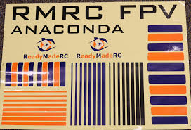 rmrc anaconda pnp with installed motor esc and servos