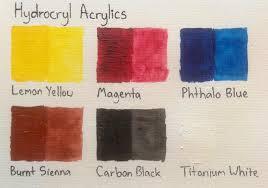 colour charts artdragon86