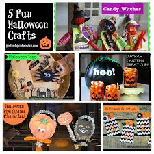 Candy Crafts For Halloween by 5 Fun Halloween Crafts Yesterday On Tuesday