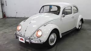 volkswagen white beetle dustyoldcars com 1961 vw beetle white sn 1222 youtube