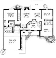 ranch home plans with breezeway decohome