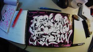 graffiti alphabet blackbook sketch youtube