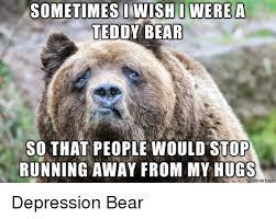 Running Bear Meme - 25 best memes about depressed bear depressed bear memes