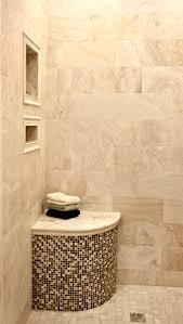 Bathroom Floor And Shower Tile Ideas by Like The Idea Of The Seat In The Shower Tiled With The Same