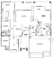 Split Floor Plan by Catalina Ridge Floor Plan 2965 Model