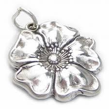 remembrance charms poppy 2d sterling silver charm pendant 925 x1 poppys remembrance