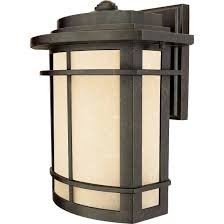 Arts And Crafts Style Outdoor Lighting by Quoizel Gln8410ib Outdoor Wall Impr Brnz 10