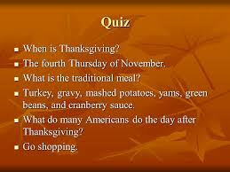 thanksgiving american chuseok ppt