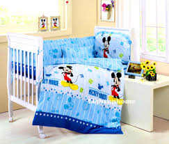 bedroom excellent mickey mouse crib bedding for cute bedroom the