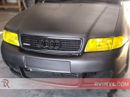 audi a4 headlights rtint audi a4 sedan 1996 1998 headlight tint film