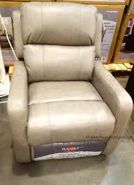 costco deal synergy home furnishings monica recliner pulaski leather glider recliner costco frugalhotspot furniture