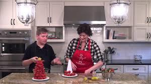 how to make a strawberry christmas tree the produce mom youtube