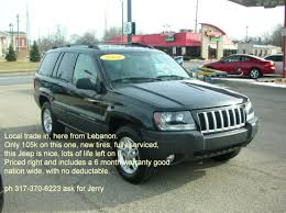 cherokee jeep 2004 2004 jeep grand cherokee laredo special edition 4wd lebanon