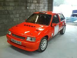 opel rally car vauxhall nova all racing cars
