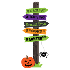 halloween sign clipart u2013 festival collections