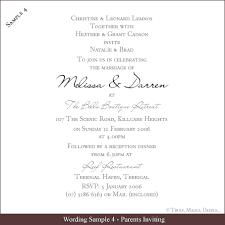 wording for a wedding card simple sle wedding invitations wording photo on creative