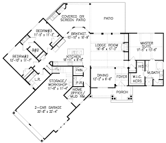 corner lot floor plans plan 15888ge hip roofed ranch home plan craftsman house plans