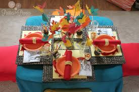 thanksgiving kids table ideas kid made thanksgiving centerpieces the activity mom loversiq