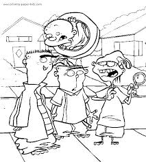 8 cartoon network colouring pages images