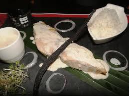 cuisine tahitienne recettes ha ura grillé à la sauce vanille de tahiti recette océan