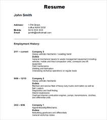 10 automobile resume templates free pdf word samples