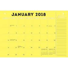 desk pad calendar 2018 842612070107 bright and colorful 2018 desk pad calendar online