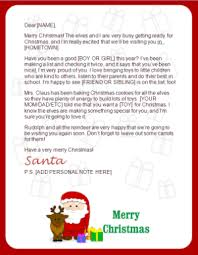 santa claus letters printable santa letters personalized printable letters from