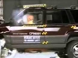 jeep 94 grand 65 iihs crash test 1994 1995 1996 jeep grand