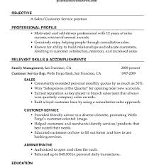 Resume Objective For Bank Job by Smart Inspiration Resume Objective For Customer Service 4 Sample