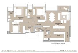 Apartment Plan 3 Bhk 4 Bhk Apartments In Mulund West Eternia And Enigma