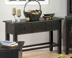 nice ideas black wall table absolutely sofa tables table and with