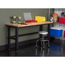6 ft adjustable height table trinity 6 ft w x 24 in d adjustable height workbench tls 7203