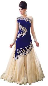 gown design royal ethnic indian designer wedding and party wear