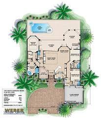 mediterranean floor plans with courtyard mediterranean home plans and best mediterranean house plans home