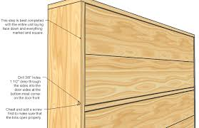 Woodworking Plans For Dressers Free by Ana White Shoe Dresser Diy Projects